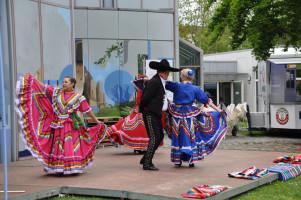 Mexikanische Tanzgruppe