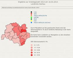 Stimmenverteilung SPD