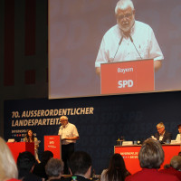 Martin Güll beim Landesparteitag in Weiden