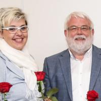 Martina Tschirge und Martin Güll